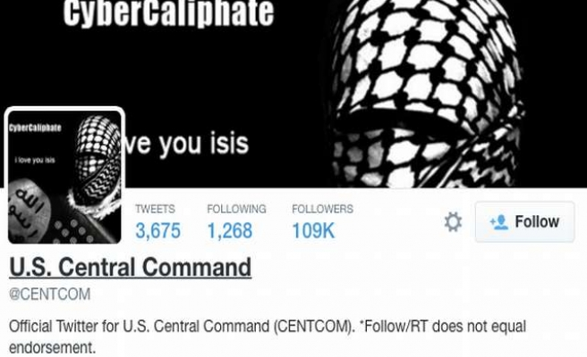 US Central Command's social media accounts hacked -UPDATED
