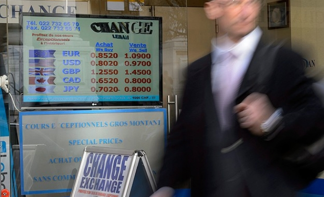 Swiss move on euro hits emerging markets