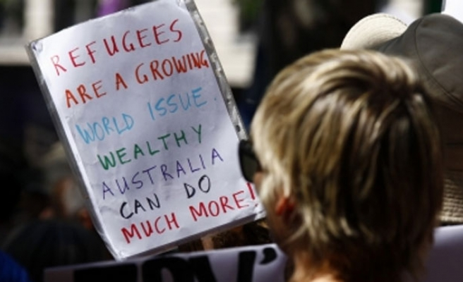 Protests not over at Australian detention centre