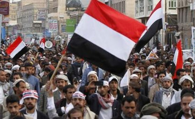 Yemenis commemorate 2011 uprising, decry Houthi takeover