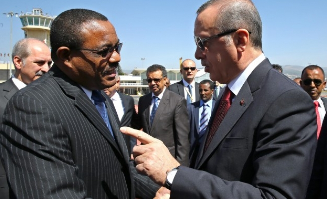 Erdogan's visit widely covered by Ethiopian media