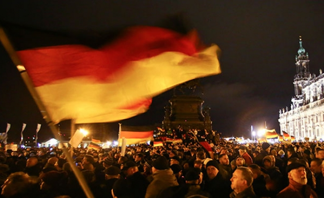 PEGIDA rallies throughout Germany
