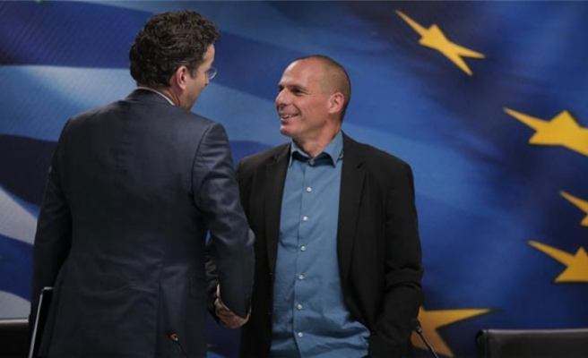 Greece has started debt talks with IMF