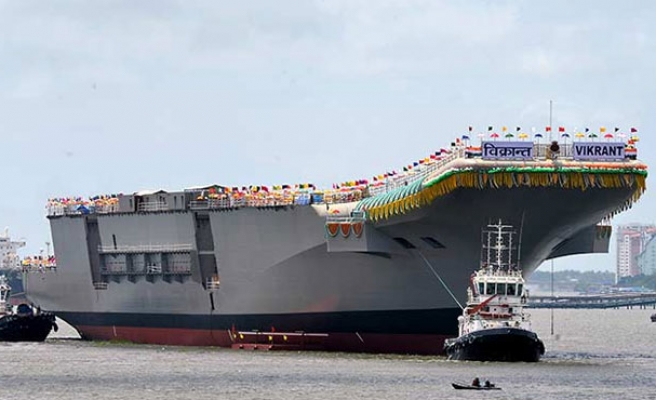 India eyes U.S. aircraft carrier technology as arms ties deepen