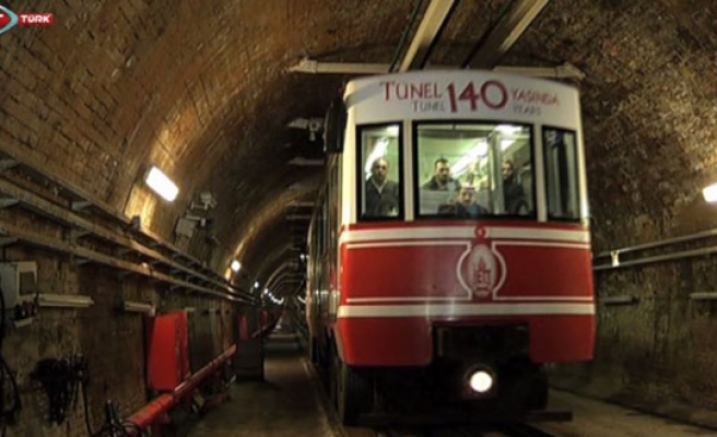 Istanbul Tunnel is 140 years old
