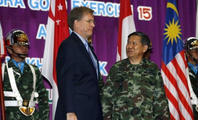 Thailand and U.S. start scaled down drills