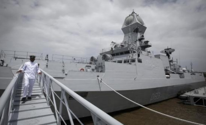 India clears $8 billion warships project to counter Chinese navy