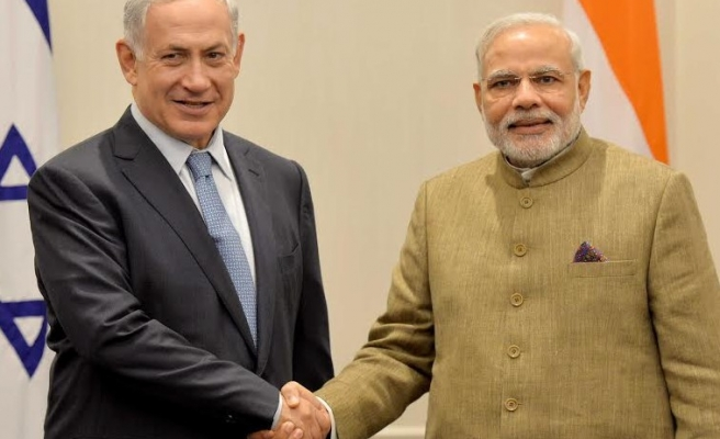 Israel says security ties with India out of the closet