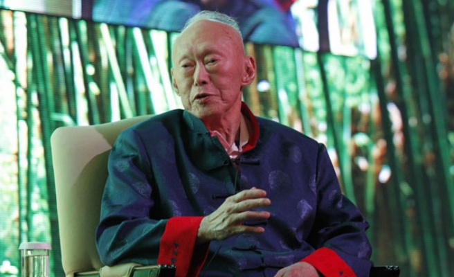 Singapore's first prime minister hospitalised with pneumonia