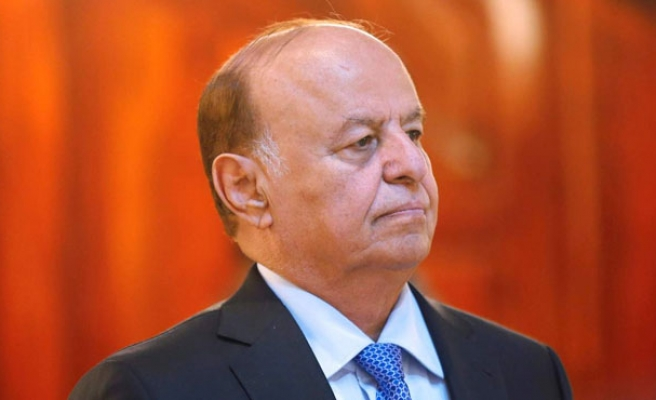 Yemen's Hadi says he is still president, thousands protest in support