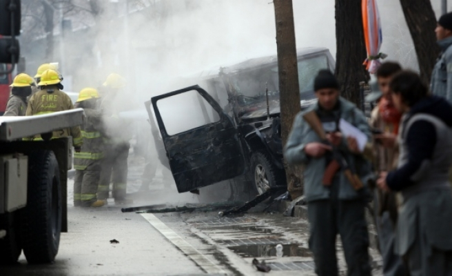 Two killed in attack on Turkish convoy in Kabul