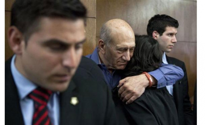 Ex-Israeli PM Olmert jailed for corruption
