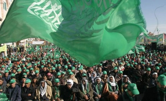 Hamas organizes solidarity protest with Yarmouk camp
