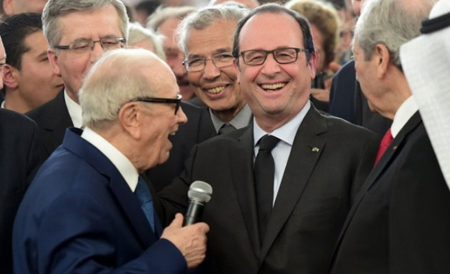 Tunisian President visits France in first Europe visit