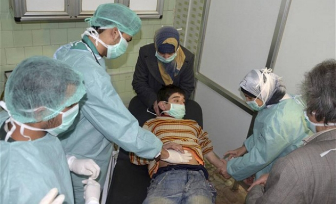 HRW: Syrian regime used chemical weapons in Idlib