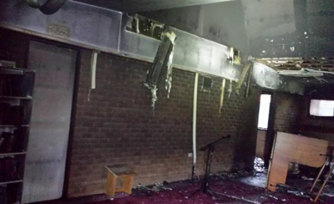 Arsonist responsible for Australian mosque attack