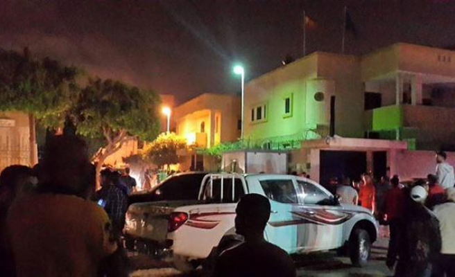 Explosion at Spanish embassy in Libya