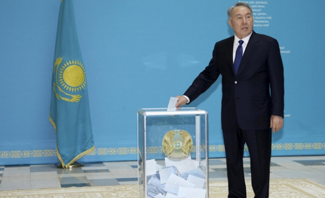 Kazakh leader defends election win