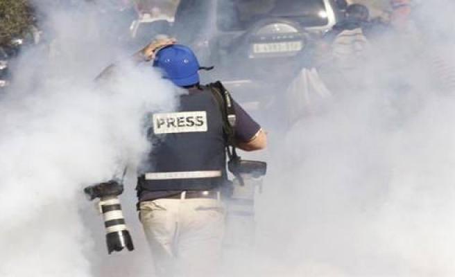 Israeli army attack journalists in Bethlehem