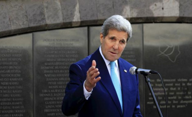 Kerry: US backs Israel's 'right to defend its existence'