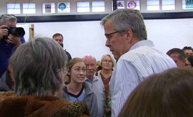 Jeb Bush confronted by student: 'Your brother created ISIL'
