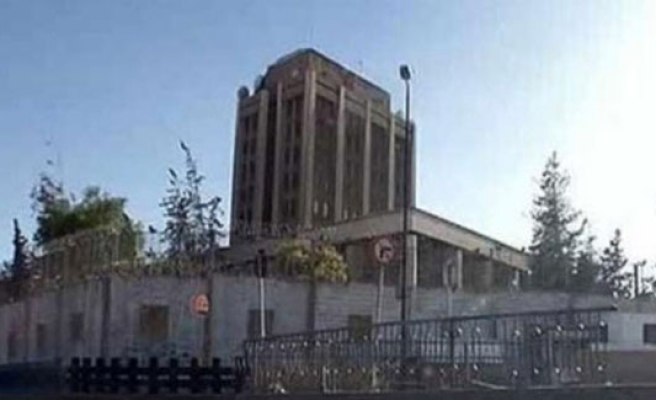 Mortar attack on Russian embassy Damascus