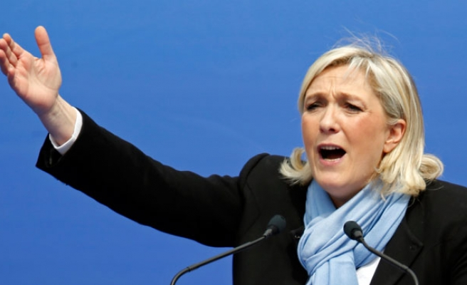 French far-right's Le Pen congratulates Trump for lead