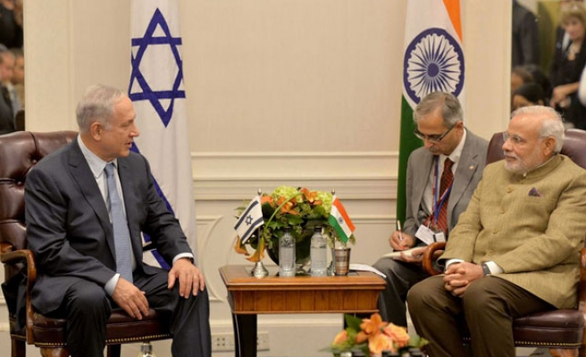 Historical Indian visit to Israel