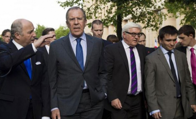 Russia, Germany call for ending fight in E.Ukraine