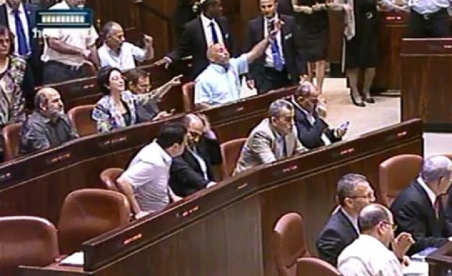 Knesset to Arab MP's 'Hand back your ID's'