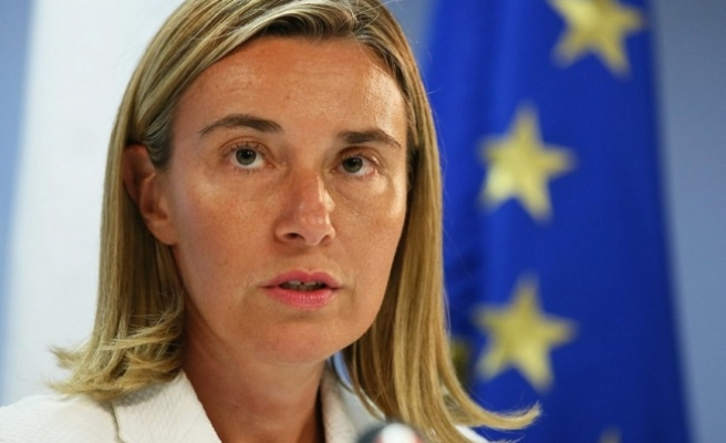Jordanian FM, EU's Mogherini discuss Jerusalem