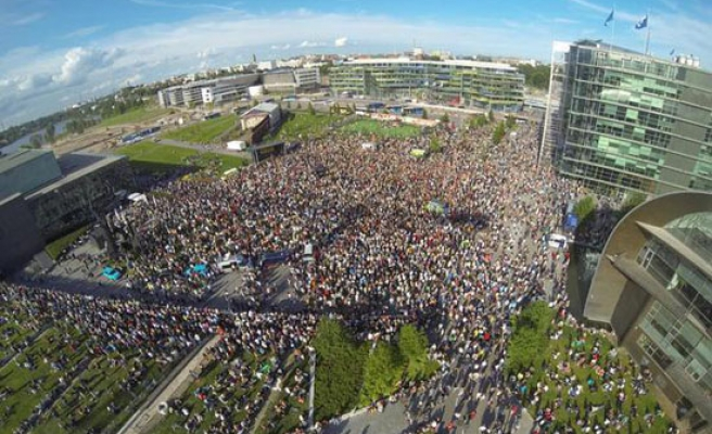 Thousands rally in Finland for multiculturalism