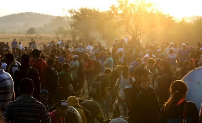 10,000 refugees entered Macedonia in 24h