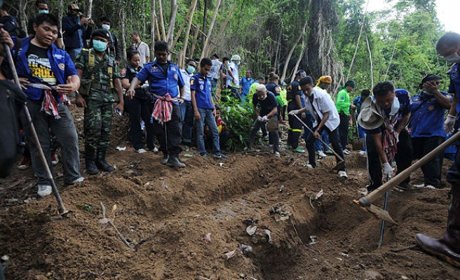 Human trafficking victims mass grave found in Malaysia