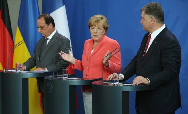 Germany, France worried over Ukraine ceasefire deal