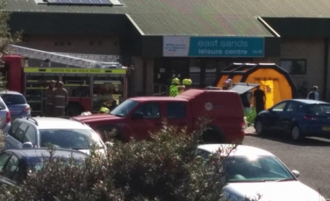 Scottish leisure centre evacuated over chemical spill fears