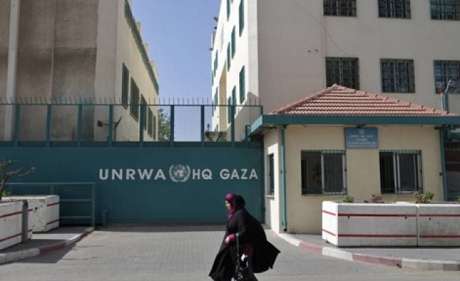 Gazans protest 'work for donations' UNRWA policy