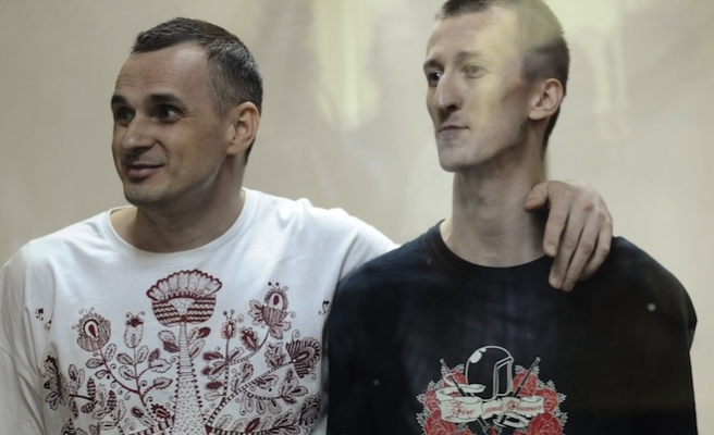 Ukraine hopes Moscow will be forced to revise filmmaker sentence