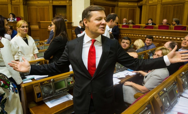 Ukraine far right ditches coalition, joins opposition