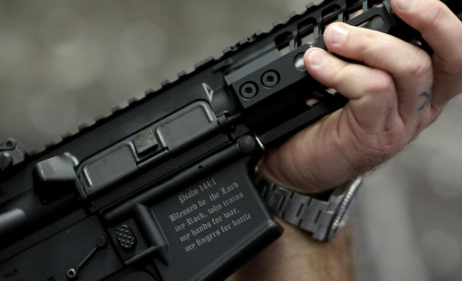 'The Crusader': rifle designed to repel Muslims