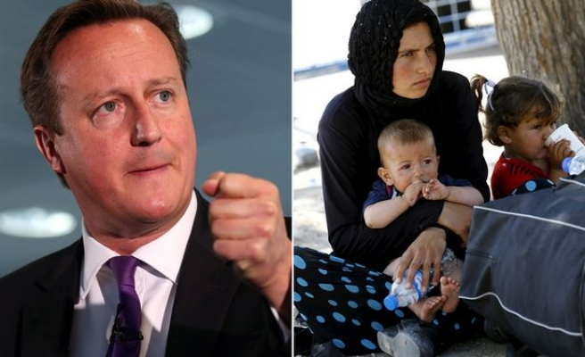 UK PM promises to accept 'thousands more' Syrian refugees