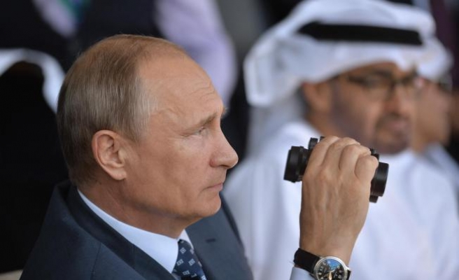 Putin slams West for Middle East policies