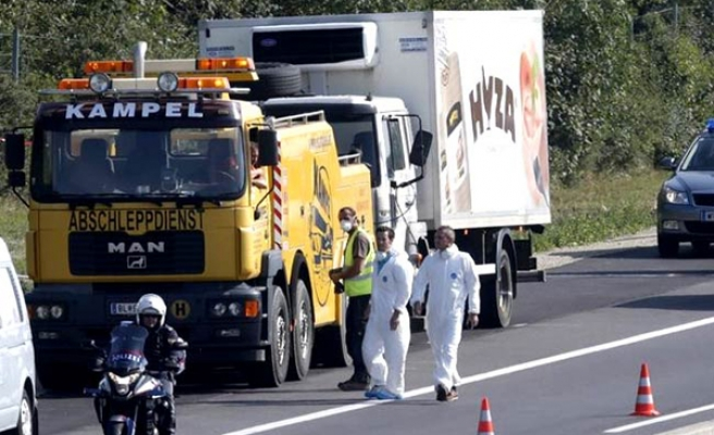 Bulgaria charges three over dead refugees in Austrian truck