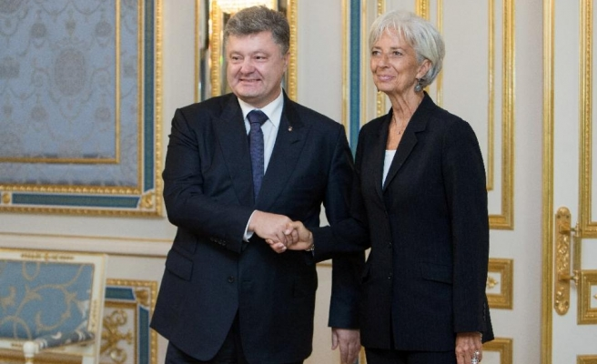 IMF chief 'extremely encouraged' by Ukraine reforms