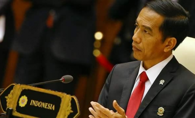 Indonesian president on trade tour to Gulf states