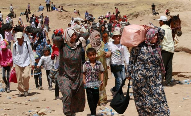 Mideast countries call for IMF help on refugee crisis