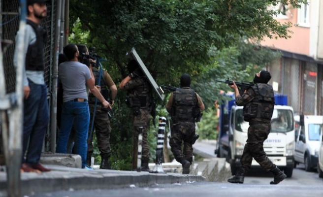 Police detain 13 PKK suspects in Istanbul