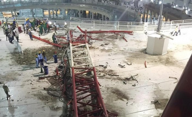 Saudi king sanctions Binladin Group over crane tragedy