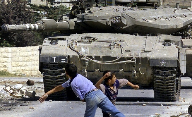 Israel to use snipers against Palestinian rock-throwers