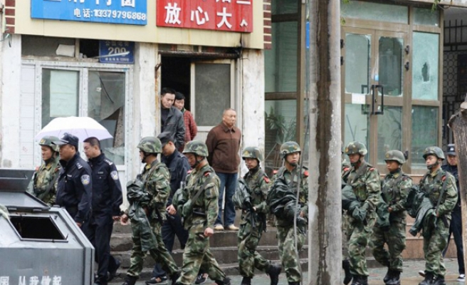 Five Chinese police killed in Xinjiang
